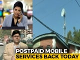 Video : Watch: NDTV Reporter's 1st Mobile Call In Kashmir During Live Telecast