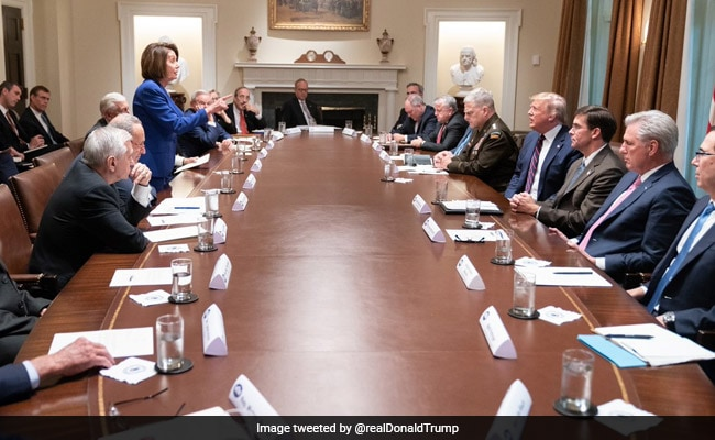 'Meltdown' In White House Meeting On Syria As Trump, Nancy Pelosi Clash
