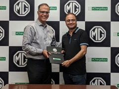 MG Motor Partners With eChargeBays To Set-up Charging Stations For ZS EV Customers