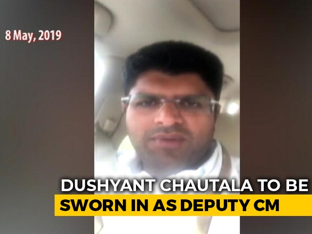 Video : After Dushyant Chautala's Tie-Up With BJP, A Flashback Of Past Criticism