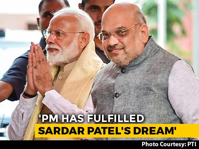 "Video : Articles 370, 35A Were ""Gateway Of Terror"", PM Modi Shut Them: Amit Shah"