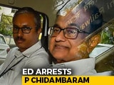 Video : P Chidambaram Arrested By Probe Agency After Questioning At Tihar Jail