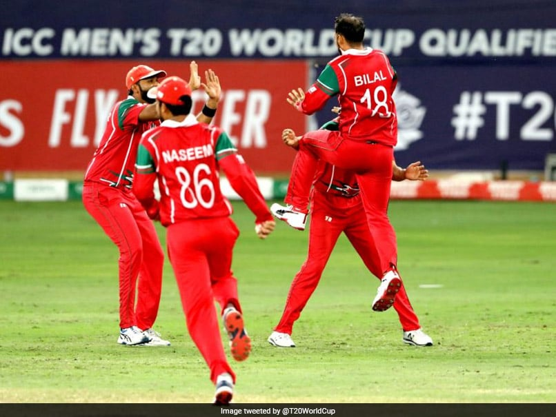 Oman Outclass Hong Kong In Crucial Qualifier To Book T20 World Cup Berth