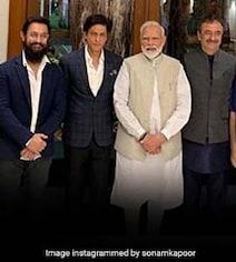 What Shah Rukh Khan, Aamir Khan Said At Gandhi Event Hosted By PM Modi