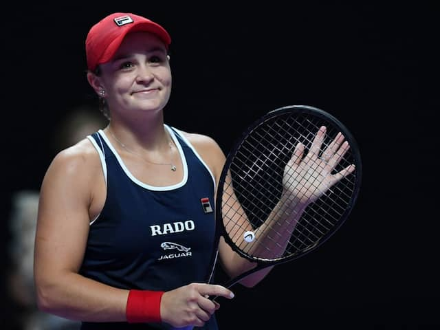 WTA Finals: Ashleigh Barty And Belinda Bencic Advance To Semi-Finals