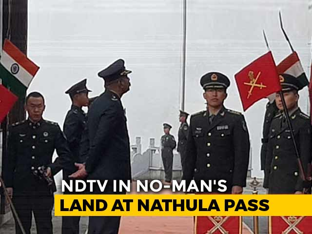 Video : Weeks After Exchanging Blows, Indian, Chinese Armies Celebrate At Nathu La Pass