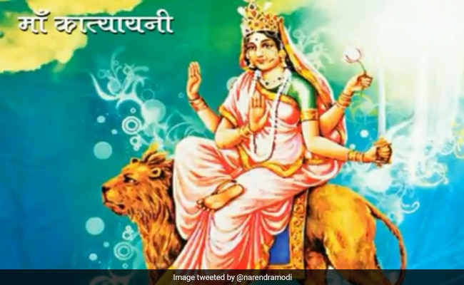 Navratri Day 6: A Day To Worship Warrior Goddess Katyayani