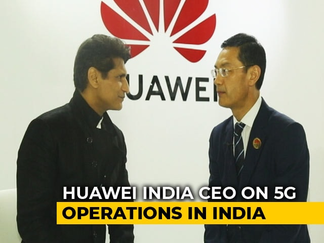 Video : Huawei Confident About Its 5G Journey In India