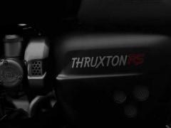 Triumph Thruxton RS Teased Ahead Of Unveil