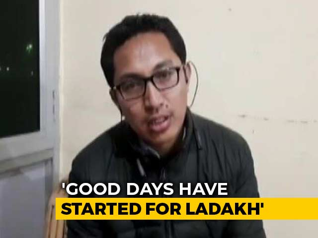 Video : 'Ladakh Has Its Own Identity And Importance': MP Jamyang Tsering Namgyal