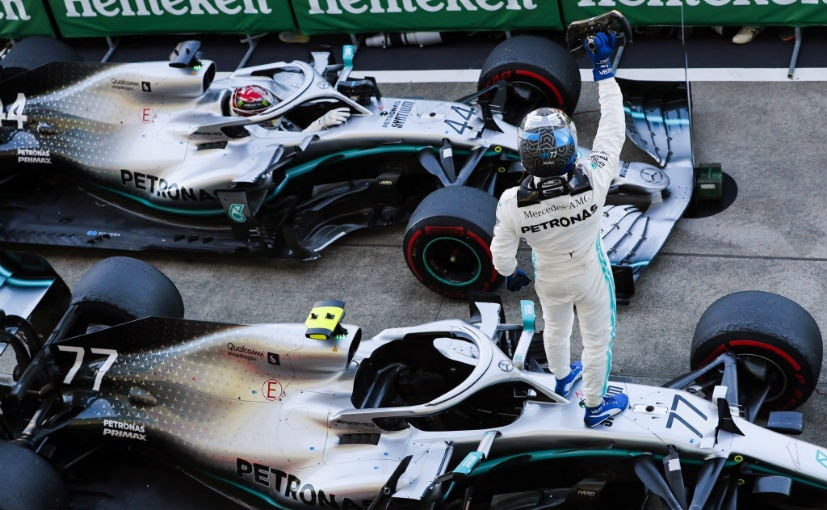 Bottas & Hamilton are the only drivers now in contention for the 2019 F1 championship title