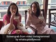 करीना कपूर बहन करिश्मा के साथ यूं मजे से खा रही थीं खीर, सोशल मीडिया पर वायरल हो रहा है Video