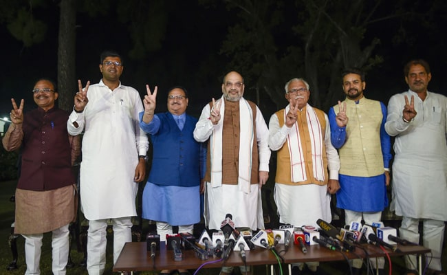 Names Finalised For Haryana Cabinet, Expansion Likely On November 12