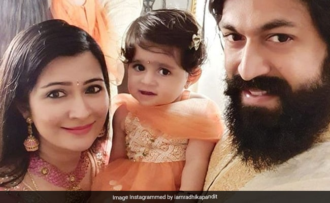 KGF Star Yash And Wife Radhika Pandit Welcome Baby Boy, Daughter 'Ayra's Happiness Is Doubled'