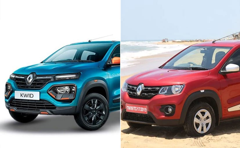 The new Renault Kwid facelift gets a new face along with some new features.