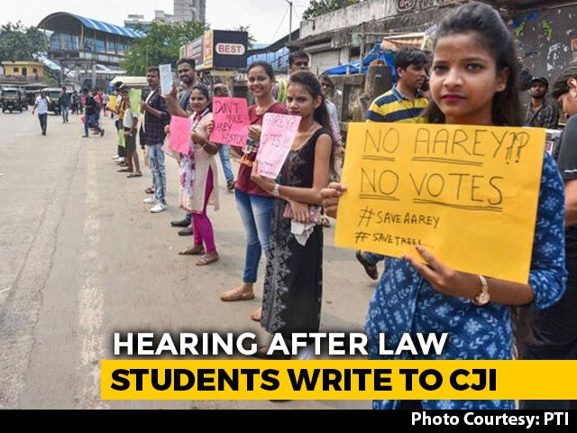 Video : To Save Aarey's Trees, Mumbai Activists Look To Supreme Court Today