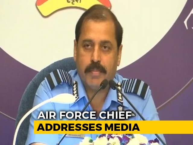 "Video : ""Big Mistake"" To Shoot Down Our Own Chopper In J&K, Says Air Force Chief"