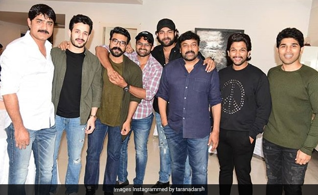 Sye Raa Narasimha Reddy Collects 100 Crore Worldwide, Chiranjeevi Parties With Family And Friends