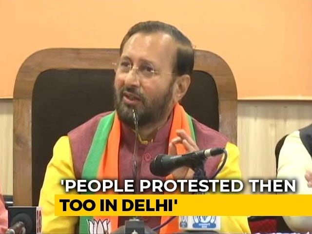Video : Trees Were Cut For Delhi Metro Too: Prakash Javadekar Backs Aarey Project