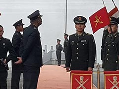 Weeks After Exchanging Blows, Indian, Chinese Armies Celebrate At Nathu La Pass