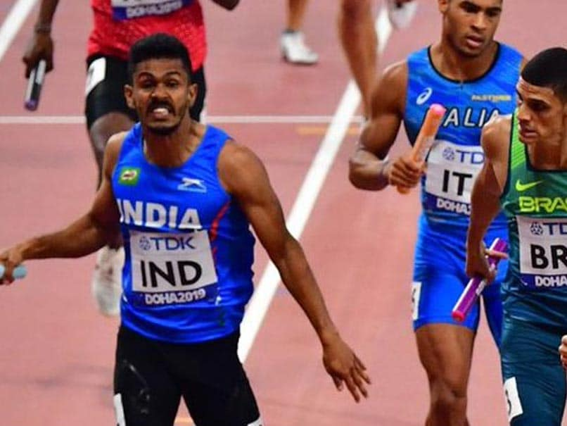 World Athletics Championship:  Indian man team couldn