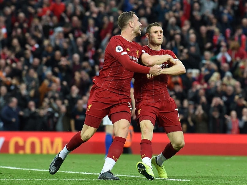 Liverpool extend lead over City as Arsenal move to third