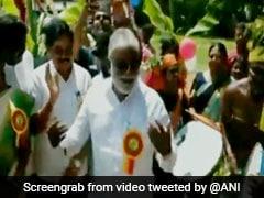 Dasara 2019: Karnataka MLA N Mahesh Dances On Drum Beats At Gramin Dasara