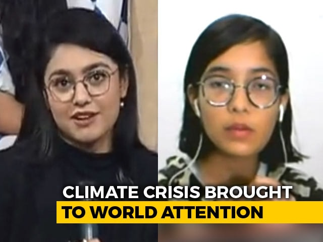 "Video : ""India's Greta"" Speaks To NDTV On Climate Crisis"