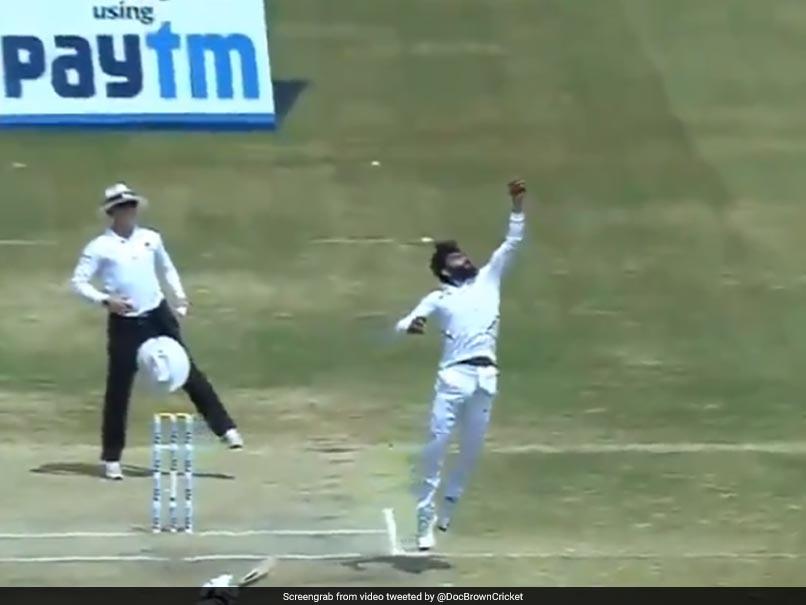 India vs South Africa: Ravindra Jadeja Displays Incredible Reflexes In Return Catch To Dismiss Aiden Markram. Watch
