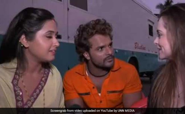 Bhojpuri Cinema: खेसारी लाल यादव ने लंदन में विदेशी लड़की को सिखाई भोजपुरी, फिर बोले-जान दे दूंगा आपके लिए- देखें Video