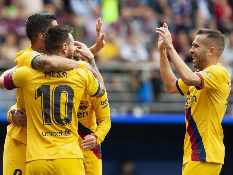 Barcelona vs Eibar: Lionel Messi, Luis Suarez And Antoine Griezmann Star In Barcelona