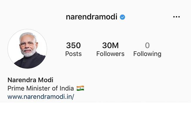 PM Modi's Instagram Followers Reach 30 Million, Ahead Of Trump, Obama