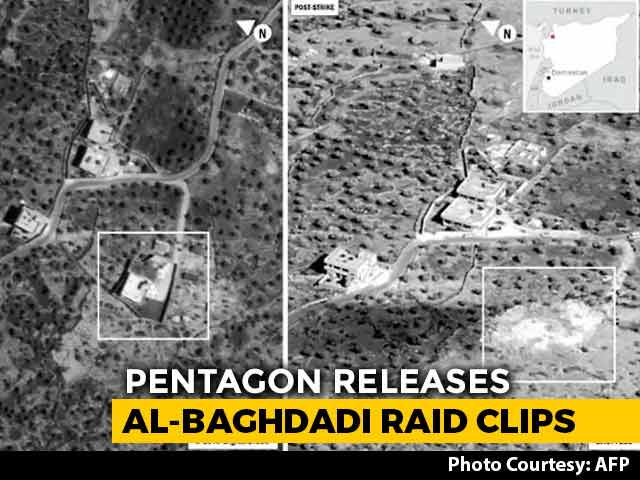 Video : Pentagon Releases Video, Photos Of Raid That Killed ISIS Chief Baghdadi