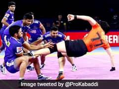 Pro Kabaddi: लीग चरण के अपने अंतिम मुकाबले में यू-मुम्बा से हारा हरियाणा स्टीलर्स