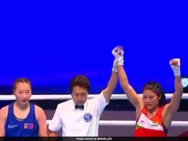 Womens World Boxing Championships: Jamuna Boro Advances With Win Over Mongolias Michidmaa Erdenedalai