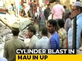 Video : 10 Dead After Building Collapses Following Cylinder Blast In UP