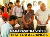 Video : Slow Voting In Maharashtra, Haryana, BJP Hopes To Retain Both