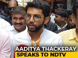 Video : Aaditya Thackeray On Low Voter Turnout In Mumbai