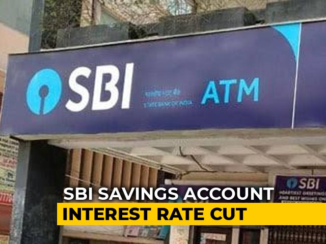Video : SBI Cuts Interest Rate, Returns Now Zero Or Negative?