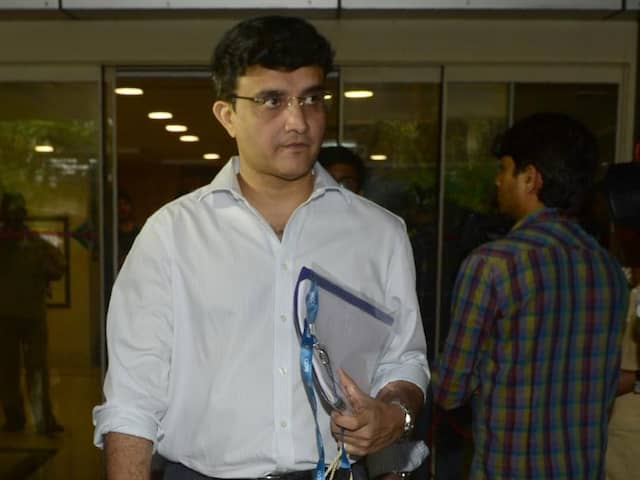 "Sourav Ganguly Says Being BCCI President ""Great Opportunity"" To Fix Boards Image"