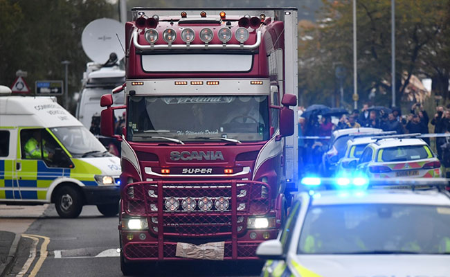UK Police Hunt For Brothers From Northern Ireland Over 39 Truck Deaths