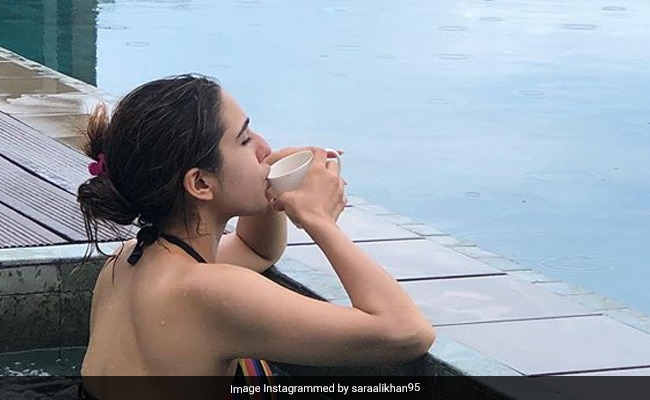 Sara Ali Khan Makes A Splash On Instagram With Sri Lanka Vacation Pics