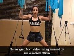 Viral Video: मलाइका अरोड़ा के जिम वीडियो ने फिर मचाई धूम, बार-बार देखा जा रहा है वीडियो