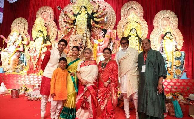 Kajol, Rani Mukerji, Amitabh Bachchan and others attend Durga Puja 2019