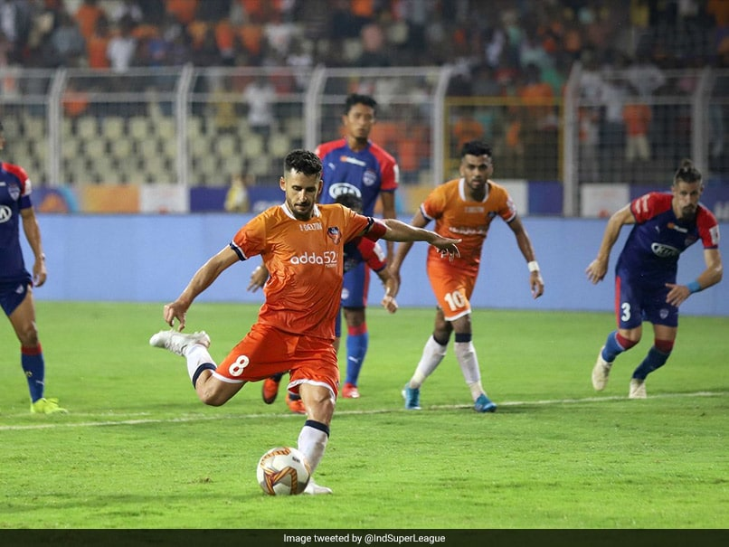 ISL: Ferran Corominas Stoppage-Time Penalty Salvages 1-1 Draw For FC Goa vs Bengaluru FC