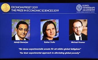 Economics Nobel For India-Born Abhijit Banerjee, Esther Duflo, M Kremer