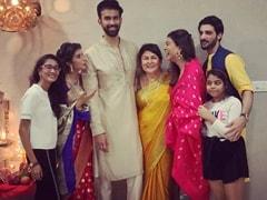 Diwali 2019: Sushmita Sen's Festivities With Rohman Shawl, Daughters, Brother Rajeev And Sister-In-Law Charu Asopa