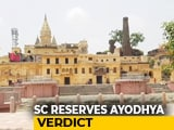 Video : Ayodhya Case: Daily Hearings In Supreme Court End, Verdict Reserved