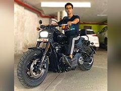 Actor Rajkummar Rao Brings Home The Harley-Davidson Fat Bob