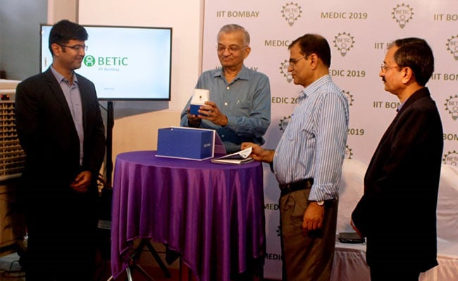 IIT Bombay Innovator Launches Diabetic Foot Screening Device
